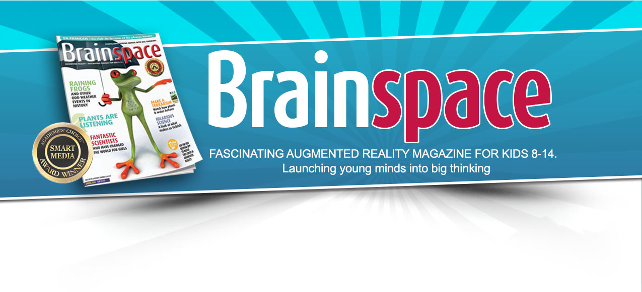 Augmented reality magazine for kids.